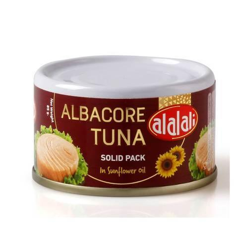 Al Alali Albacore Tuna Solid Pack in Sunflower Oil 85g - 2kShopping.com - Grocery | Health | Technology