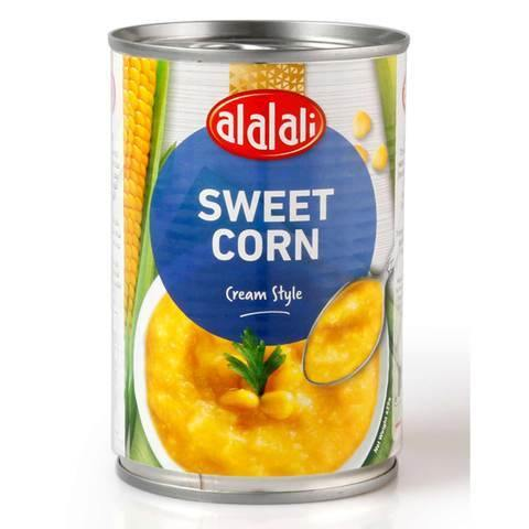 Al Alali Sweet Corn, Cream Style Can 425g - 2kShopping.com - Grocery | Health | Technology