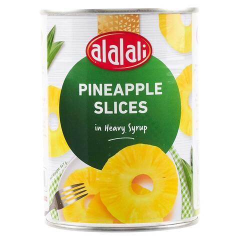 Al Alali Pineapple Slices in Heavy Syrup 567g - 2kShopping.com - Grocery | Health | Technology
