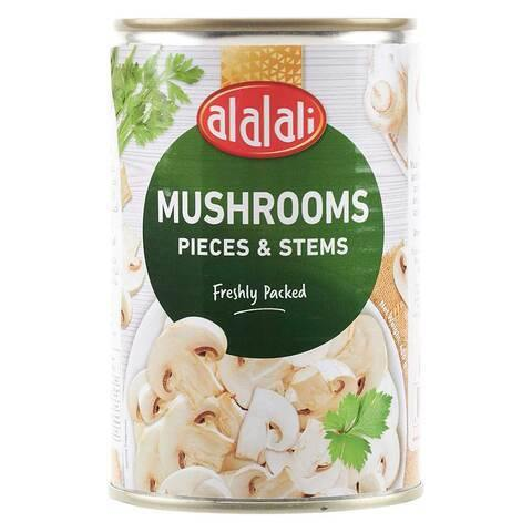 Al Alali Pieces And Stems Mushrooms 400g - 2kShopping.com - Grocery | Health | Technology
