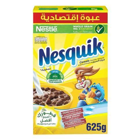 Nestle Nesquik Chocolate Breakfast Cereal 625g - 2kShopping.com - Grocery | Health | Technology