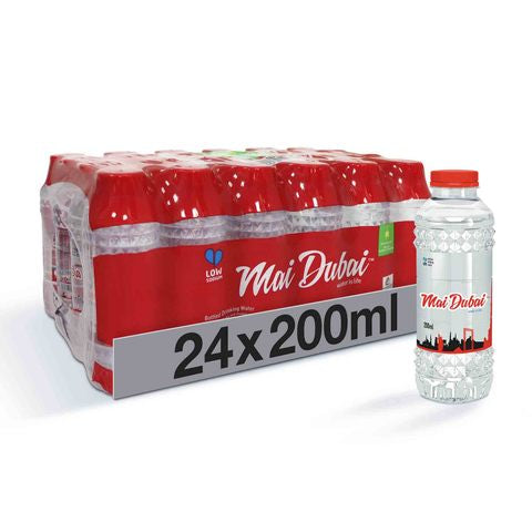 Mai Dubai Bottled Drinking Water 200ml x 24 - 2kShopping.com