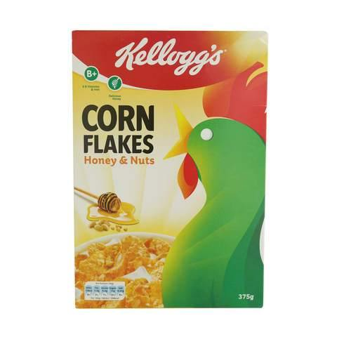 Kellogg's Honey and Nuts Corn Flakes 375g - 2kShopping.com - Grocery | Health | Technology