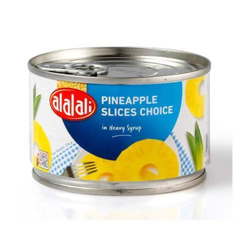 Al Alali Choice Pineapple Slices in Heavy Syrup 234g - 2kShopping.com - Grocery | Health | Technology
