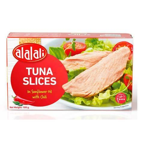 Al Alali Tuna Slices in Sunflower Oil with Chili 100g - 2kShopping.com - Grocery | Health | Technology