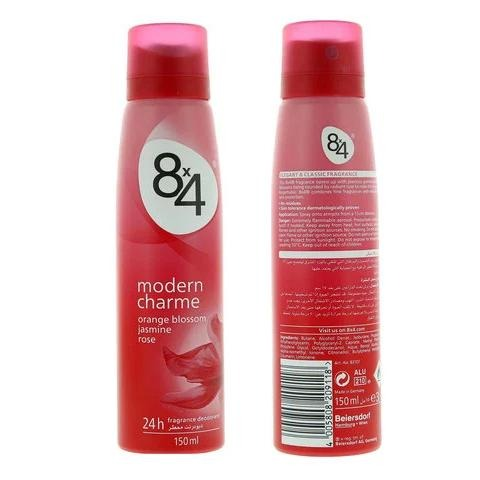 8x4 Modern Charme Fragnance Deodorant 150ml - 2kShopping.com - Grocery | Health | Technology