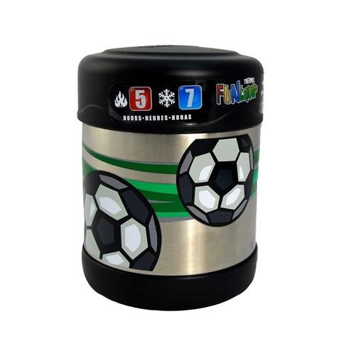Thermos®- Funtainer® Stainless Steel Food Jar 290Ml- Football - 2kShopping - Grocery | Health | Technology
