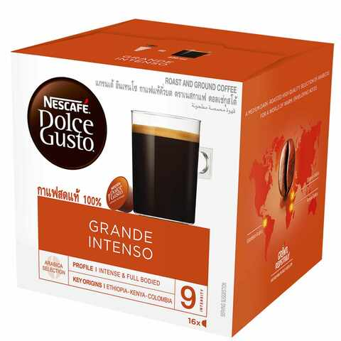 Nescafe Dolce Gusto Grande Intenso Coffee Pack of 16 Capsules - 2kShopping.com