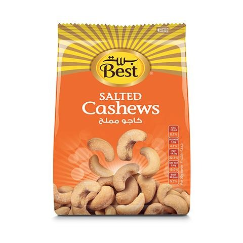 Best Salted Cashews Bag 300g - 2kShopping.com - Grocery | Health | Technology