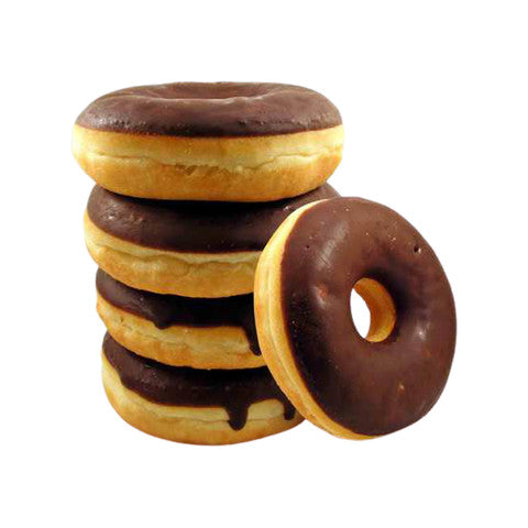 Chocolate Donuts 5-Piece Pack - 2kShopping.com