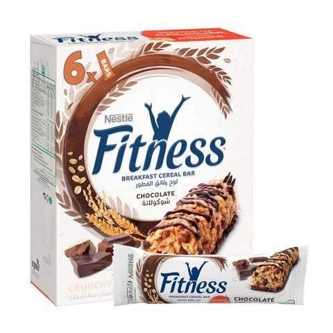 Nestle Fitness Chocolate Breakfast Cereal Bar 23.5g x Pack of 6 - 2kShopping.com - Grocery | Health | Technology
