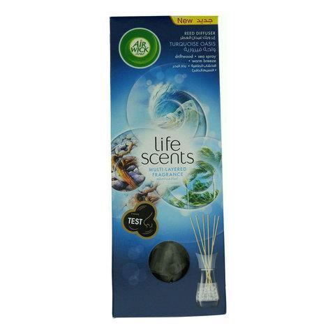 Air Wick life Scents Turquoise Oasis Reed Diffuser 30ml - 2kShopping.com - Grocery | Health | Technology