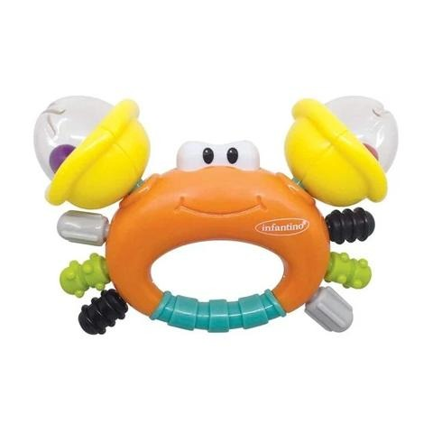 INFANTINO - Sand Crab Rattle & Teether - 2kShopping - Grocery | Health | Technology