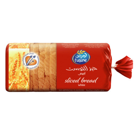 L'usine Sliced White Bread 600g - 2kShopping.com