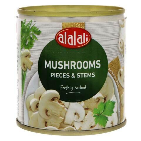 Al Alali Pieces And Stems Mushrooms 200g - 2kShopping.com - Grocery | Health | Technology