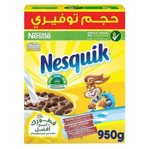 Nesquik Whole Grain Chocolate Cereal 950g - 2kShopping.com - Grocery | Health | Technology