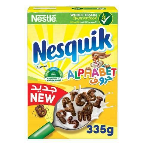 Nestle Nesquik Alphabet 335g - 2kShopping.com - Grocery | Health | Technology