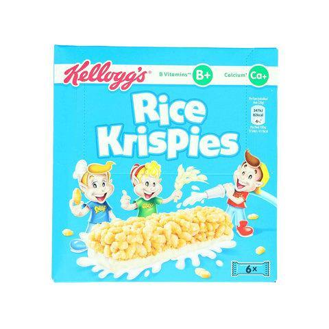 Kellogg's Rice Krispies Cereal 20g x Pack of 6 - 2kShopping.com - Grocery | Health | Technology