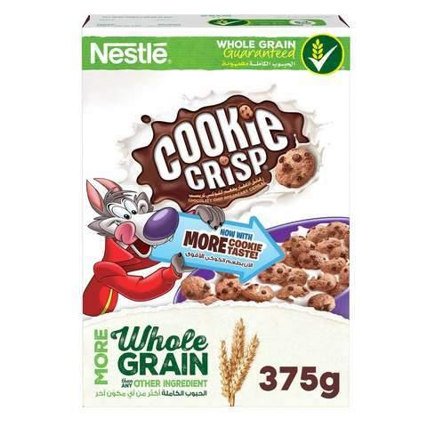 Nestle Whole Grain Cookie Crisp Cereal 375g - 2kShopping.com - Grocery | Health | Technology