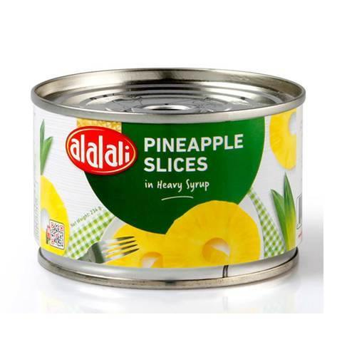 Al Alali Pineapple Slices in Heavy Syrup 234g - 2kShopping.com - Grocery | Health | Technology