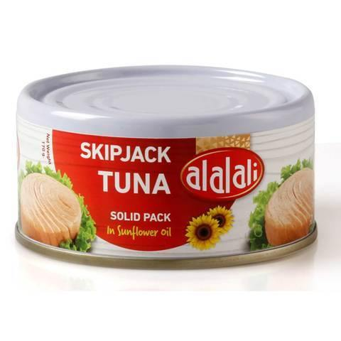 Al Alali Skipjack Tuna Solid Pack in Sunflower Oil 170g - 2kShopping.com - Grocery | Health | Technology