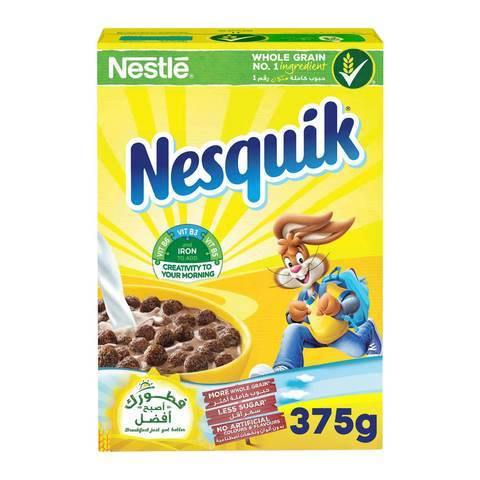Nestle Nesquik Chocolate Breakfast Cereal 375g - 2kShopping.com - Grocery | Health | Technology