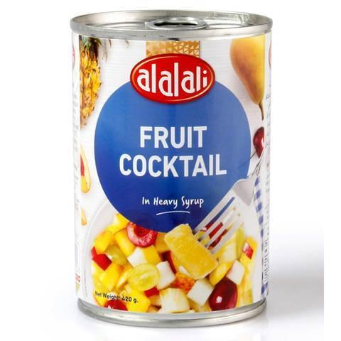 Al Alali Fruit Cocktail in Heavy Syrup 420g - 2kShopping.com - Grocery | Health | Technology