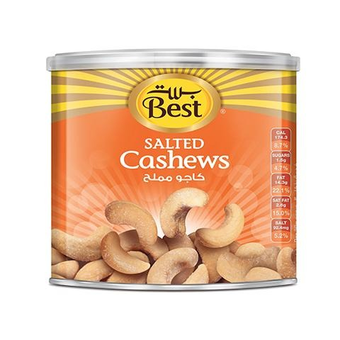 Best Salted Cashews Can 110g - 2kShopping.com - Grocery | Health | Technology