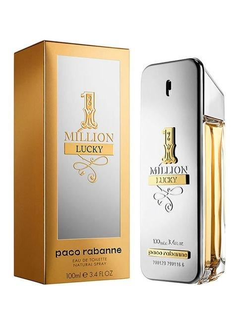 1 Million Lucky - Eau De Toilette - 100 ml by PACO RABANNE for Men - 2kShopping.com - Grocery | Health | Technology