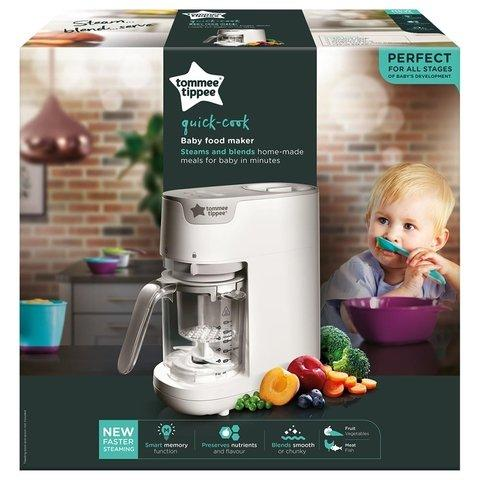 Tommee Tippee Quick Cook Baby Food Steamer Blender-W... - 2kShopping - Grocery | Health | Technology