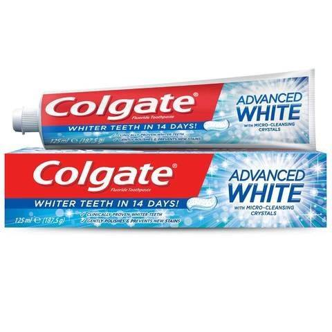 Colgate Advanced Whitening Toothpaste 125ml... - 2kShopping.com - Grocery | Health | Technology