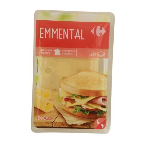 Carrefour French Emmental Cheese Slices 200g... - 2kShopping.com - Grocery | Health | Technology