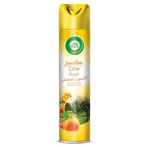 Air Wick Aerosol Sparkling Citrus Agrumes Mousse Air Freshener Spray 300ml - 2kShopping.com - Grocery | Health | Technology