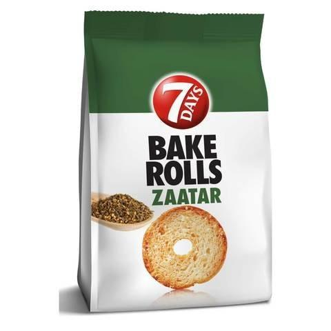 7Days Bake Rolls Zaatar 175g - 2kShopping.com - Grocery | Health | Technology