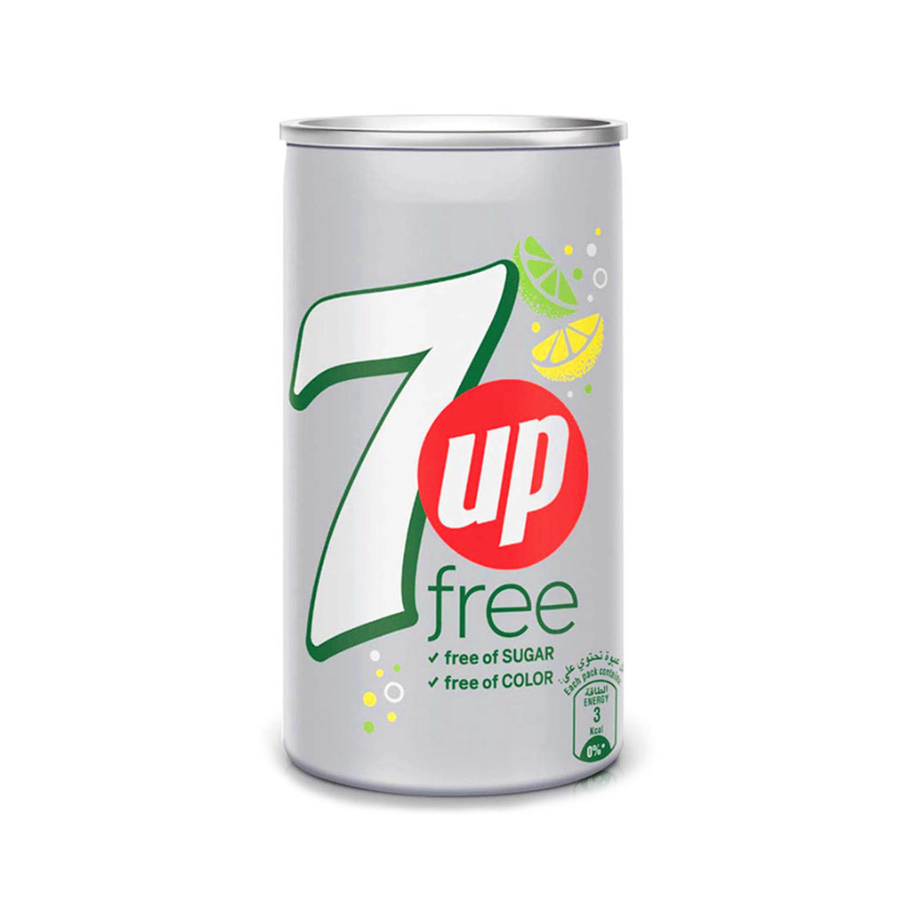 7UP Free Carbonated Soft Drink 155ml Can - 2kShopping.com
