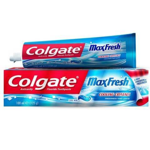 Colgate Max Cool Mint Toothpaste 75ml - 2kShopping.com - Grocery | Health | Technology