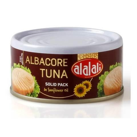 Al Alali Albacore Tuna Solid Pack in Sunflower Oil 170g - 2kShopping.com - Grocery | Health | Technology