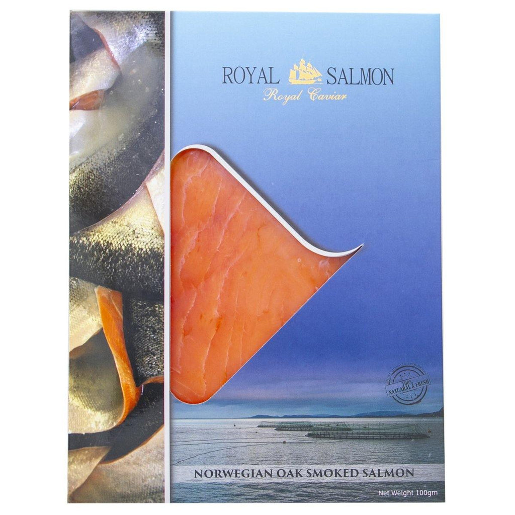 Royal Salmon Norwegian Oak Smoked Salmon Pre-sliced 100g - 2kShopping.com - Grocery | Health | Technology