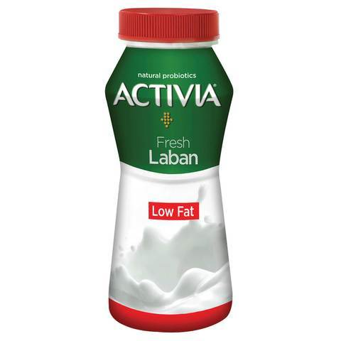 Activia Fresh Laban Low Fat 180ml - 2kShopping.com - Grocery | Health | Technology