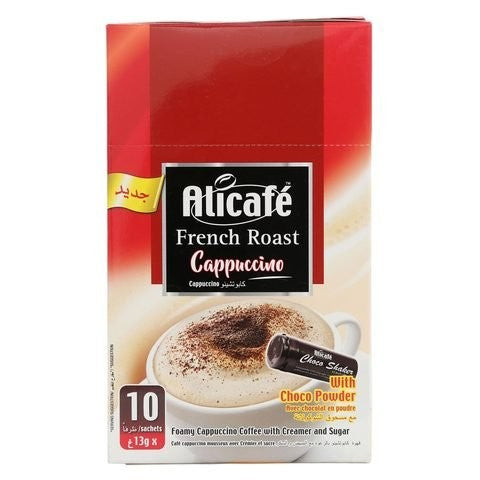 Alicafe French Roast Cappuccino with Cocoa Powder 13g x 10 Sachets - 2kShopping.com