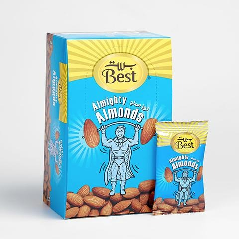 Best Almond Salted Pouch 13g - 2kShopping.com - Grocery | Health | Technology