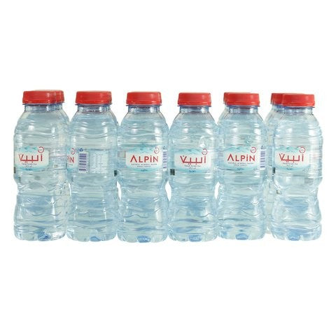 Alpin Natural Mineral Water 200ml x Pack of 24 - 2kShopping.com
