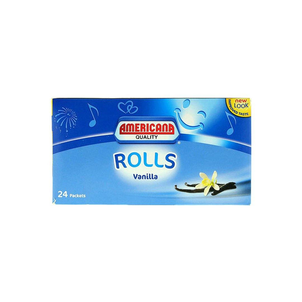 Americana Vanilla Rolls Cake, Pack of 24 - 2kShopping.com - Grocery | Health | Technology