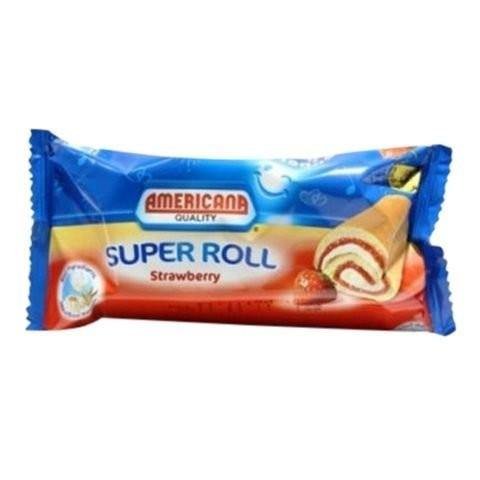Americana Strawberry Swiss Rolls Cake 55g - 2kShopping.com - Grocery | Health | Technology