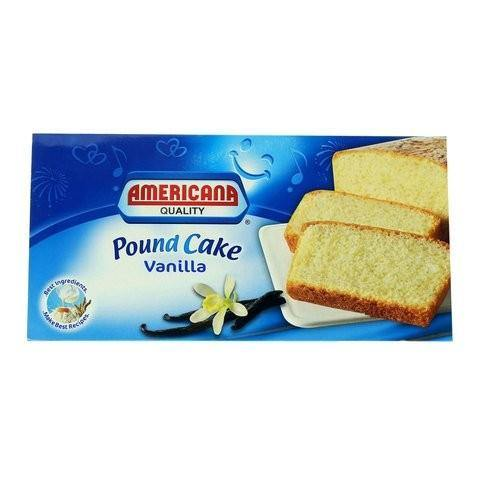 Americana Vanilla Pound Cake 300g - 2kShopping.com - Grocery | Health | Technology