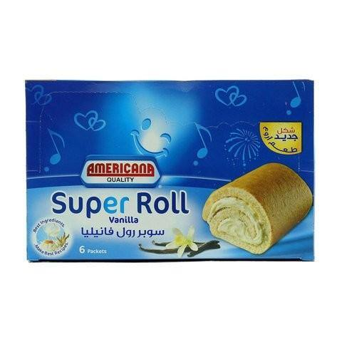 Americana Vanilla Super Roll Cake x Pack of 6 - 2kShopping.com - Grocery | Health | Technology