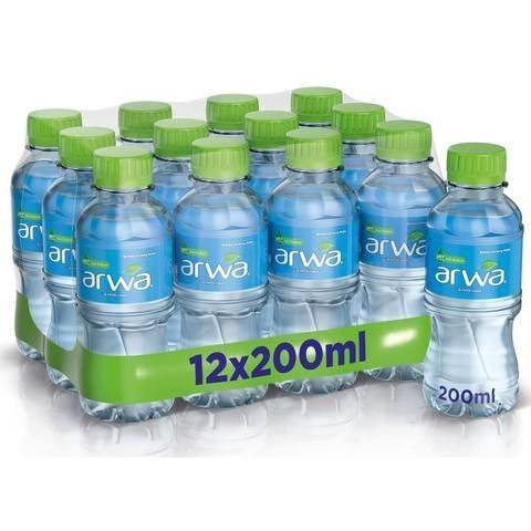 Arwa Bottled Drinking Water, Pack of 12 x 200 ML - 2kShopping.com - Grocery | Health | Technology