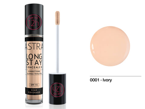 Astra - Long Stay Concealer 4.5ml 01 - Ivory - 2kShopping.com