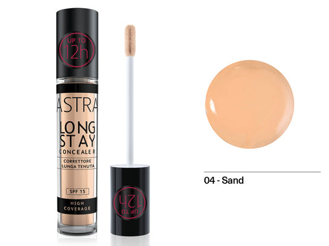Astra - Long Stay Concealer 4.5ml 04 - Sand - 2kShopping.com