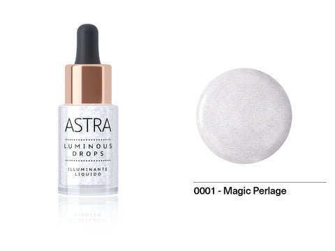 Astra - Luminous Drops Illuminante Liquido 01 Magic Pearlage - 2kShopping.com